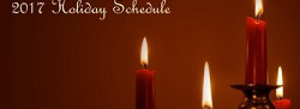 christmas holiday schedule pic1
