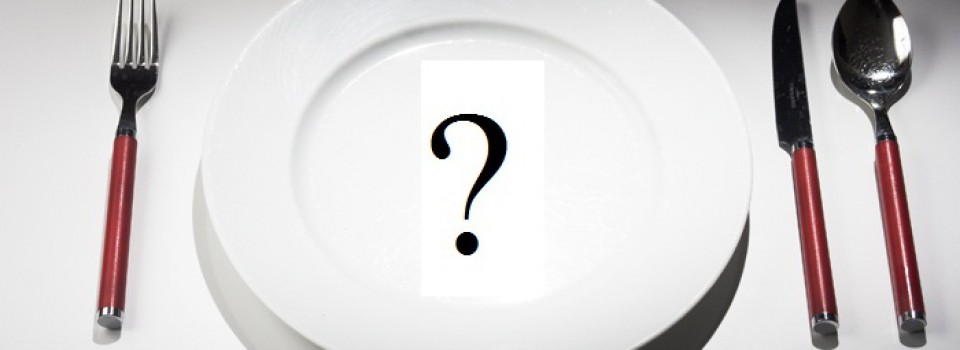 Dinner-Plate-Question-Mark